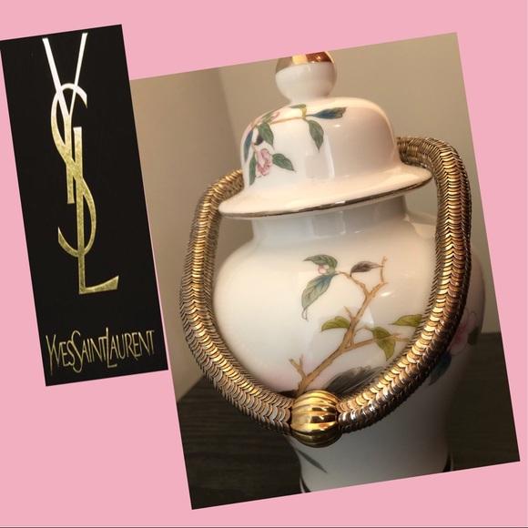 71084caf683 Yves Saint Laurent Jewelry   Chocker Necklace   Poshmark